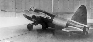 He-178 first jet -photo
