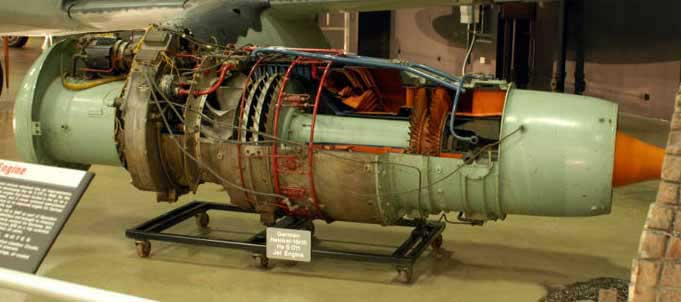 Ohain jet engine