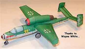 HE-162 Volksjager Fighter