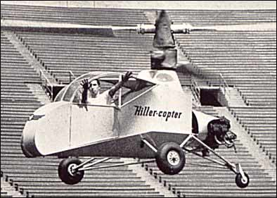 Hiller XH-44 flying