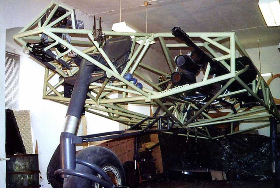 Horten H0- 229 structure in shop