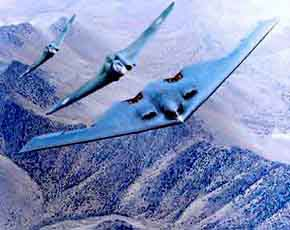 B-1 Bomber Flying wings