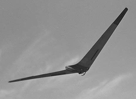 Horten Ho-IV in glorious flight