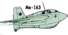 Me-163 flying WIng