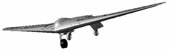 Computerized HO-IX glider1
