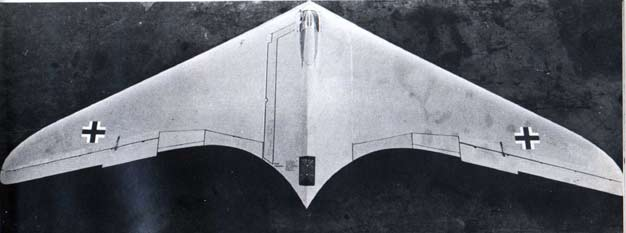 Horten IX top view