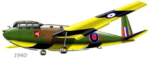 Hotspur World War II Glider paper model
