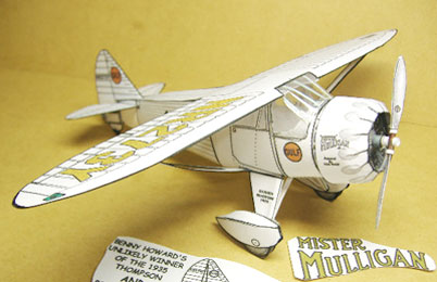 Mr Mulligan paper model