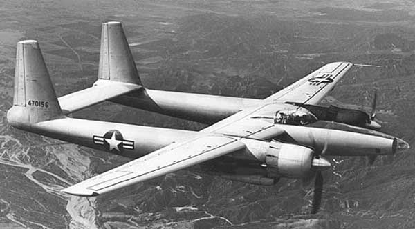 Hughes XF-11 In Flight