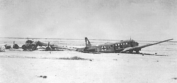 Junkers Ju-52 Crash