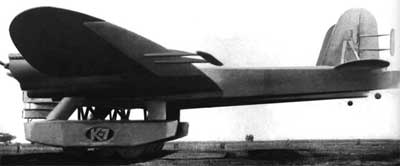 Kalinin K-7 Russian Giant Trasnport/Bomber Side View