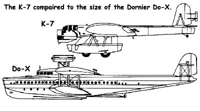 K-7 compaired to the Do-X