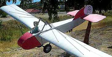 The Leeming, Price & Wood 1920s Glider paper model