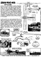 LPW GLider instruction sheet
