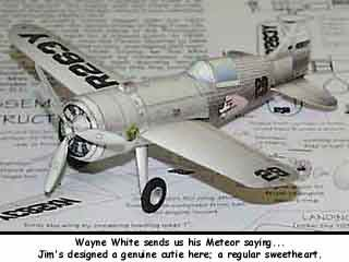 Laird Turner Meteor paper model