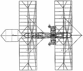 langley early flying machine top view