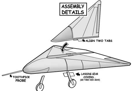 Lippisch DM-1 Assembly details