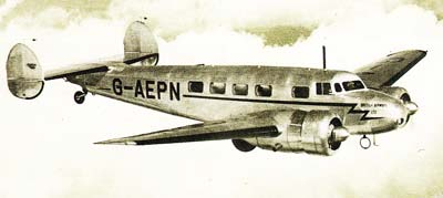 Lockheed Electra Inflight