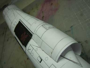 The F-104 intake system
