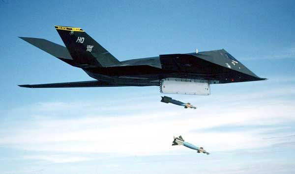 Lockheed F-117 Nighthawk Bombing
