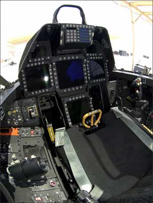 Lockheed F-22 Raptor Cockpit