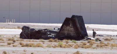 Lockheed F-22 Raptor Crash