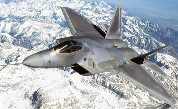 picture for the FG paper model of the F-22 Raptor
