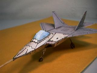 CyberModel (by Fiddlers Green) of the F-22 ATF jet fighter