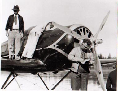 Lockheed Orion Wiley Post and Will Rogers