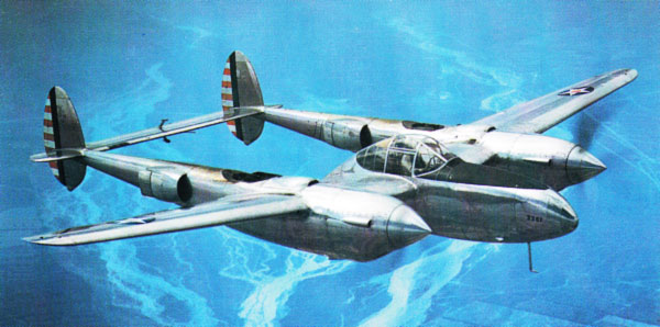 illustration for Lockheed P-38 Lightning