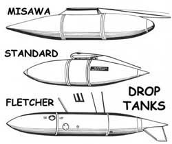 P-80 Shooting Star-Tip Tanks