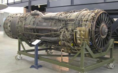 Lockheed SR-71 (YF-12,A-11) Engine