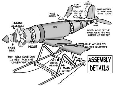 Assembly Details for the Lockheed Sirius
