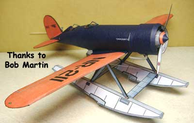 Lockheed Sirius Model submitted by Bob Martin