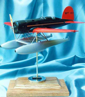 Lockheed Sirius Wooden model