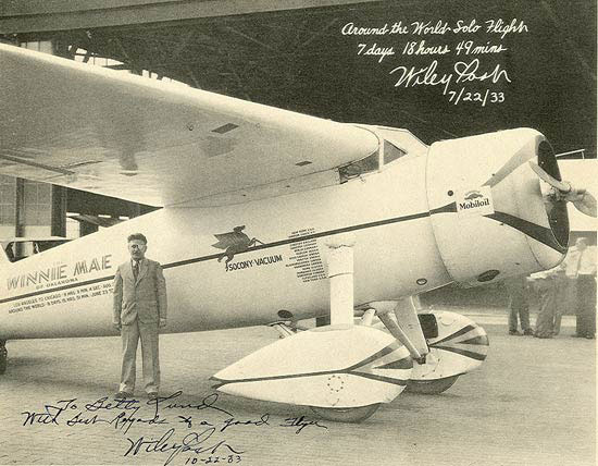 Wiley Post & Winnie Mae