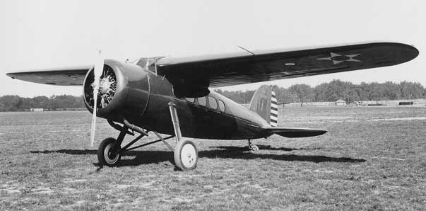 VEGA-USAAF version in the 1920s