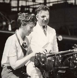 Amelia Earhart & Wiley Post