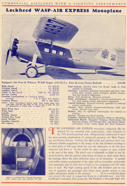 Lockheed Advertisement