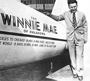 Wiley Post & his Winnie Mae