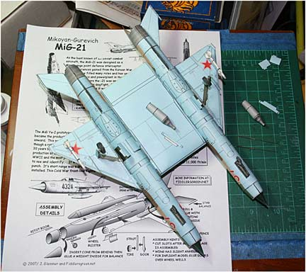 Mig 21 Collection Aircraft