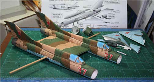 Mig-21-Fishbed-twin version