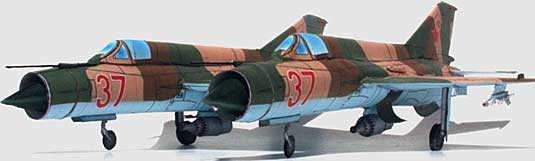 Mig-21-Fishbed-twin version finished