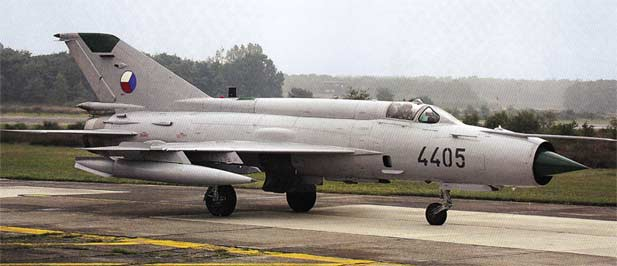 Mig-21 on strip