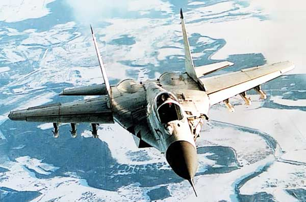 MIG-29 Fulcrum Russian Jet Fighter
