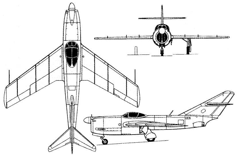 Mikoyan Gurevich Mig I 320 R 23