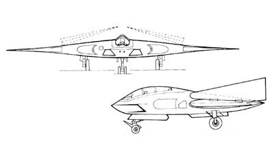 2 View of the A-12 Avenger II