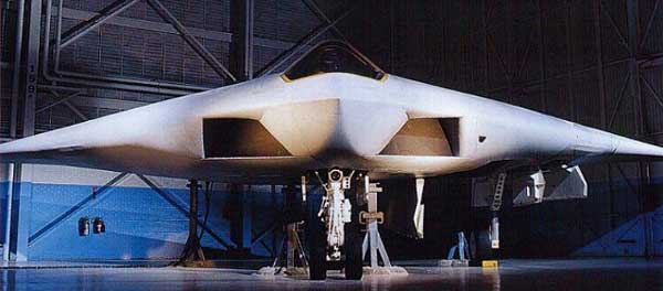 A-12 Avenger II Front View