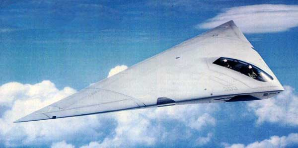 A-12 Avenger II Side View