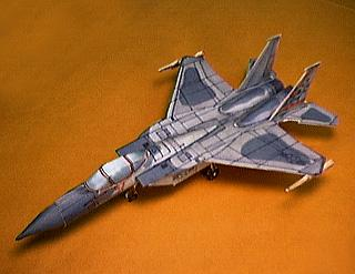 MAde up model of the F-15 jet fighter